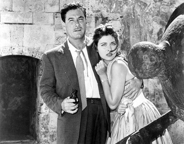 1957. Errol Flynn, Gia Scala - The big boodle