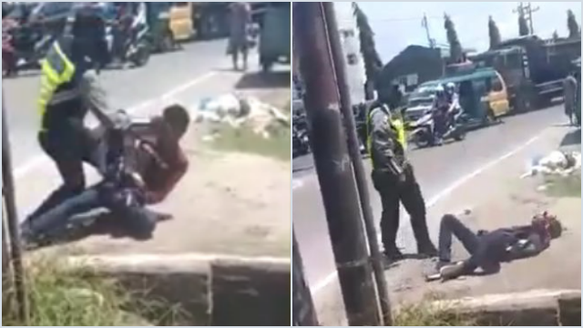 Brutal! Oknum Polisi Hajar Pria hingga Terkapar di Deli Serdang, Ibu Korban sampai Histeris