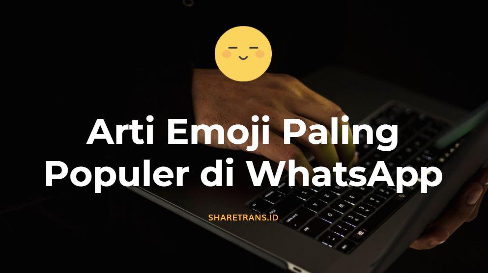 arti emoji wa paling populer