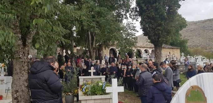 Βουλιαράτες: Σε κλίμα βαθιάς συγκίνησης τελέστηκε σήμερα το μνημόσυνο του Κωνσταντίνου Κατσίφα (Βίντεο)