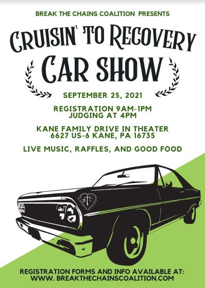 9-25 Break The Chains Crusin To Recovery Car Show