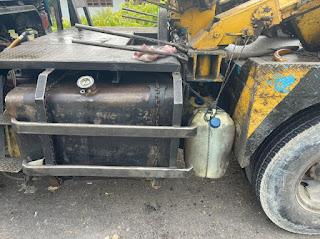 Polisi Tangkap Truk Derek Berkapasitas Tangki 450 Liter, Langsir BBM Subsidi Untuk Kebutuhan Industri.