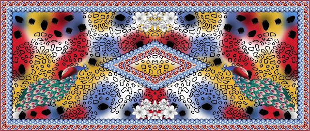 Dupatta Design Stock Photos - Lavanya Textile