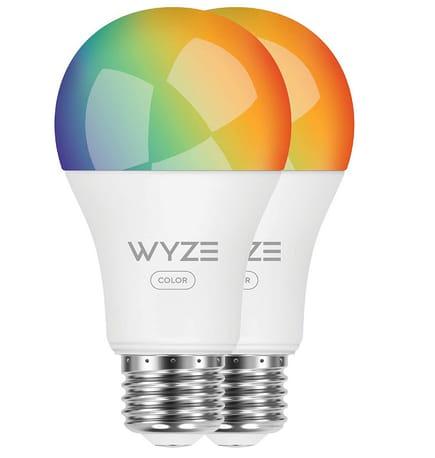 Wyze Labs WLPA19C2PK Smart Wyze Bulb