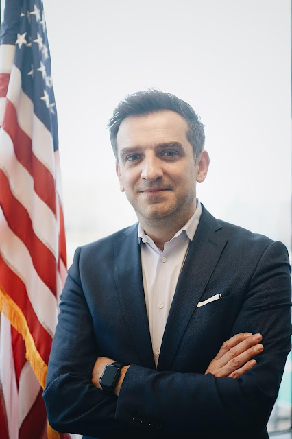 Ylli Bajraktari, Albanian in charge of the project that will transform major policies in the US