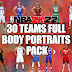 NBA 2K22 30 TEAMS  2021-2022 COMPLETE UPDATED FULL BODY PORTRAITS PACK BY  Final curtain & Raul77