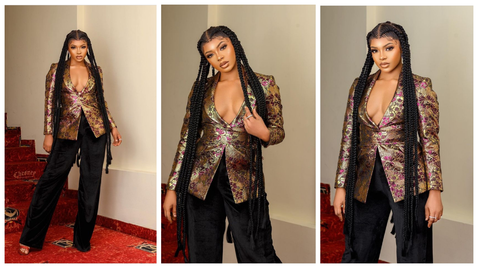 """BBNaija: Liquorose looks so stunning in adorable new photos, says """"standing tall"""" (See pictures)"""