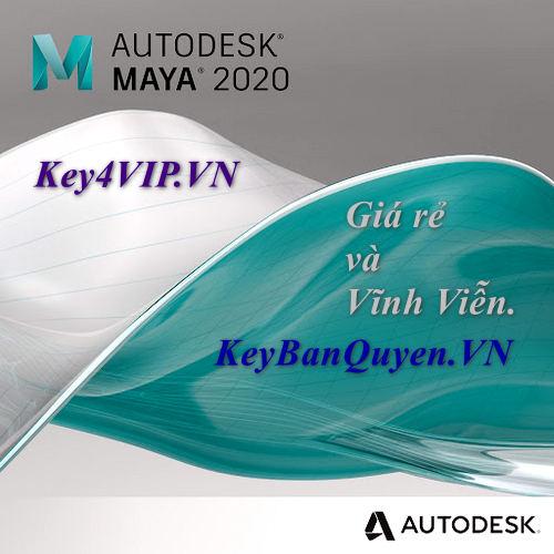 Bán key bản quyền Autodesk Maya 2017, 2018, 2019, 2020, 2021, 2022 Vĩnh Viễn.