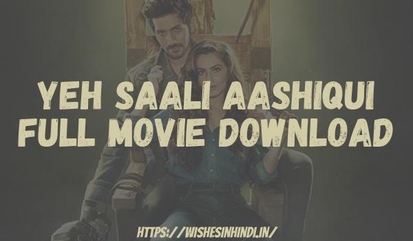 Yeh Saali Aashiqui Full Movie Download