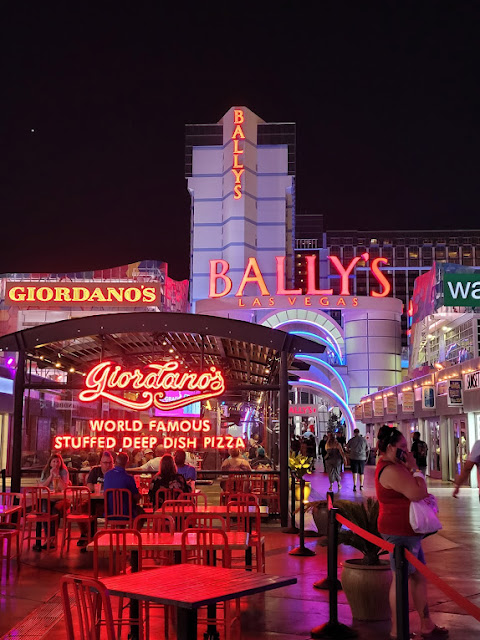 Ballys & Giordano's area, although we ate indoors/on the 2nd level