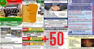Overseas Classified Daily Vacancies PDF Oct13
