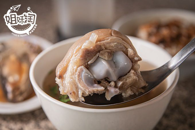網路上找不到的巷弄美食,傳統古早味土豆豬腳湯,婆媽長輩們的愛店-阿茂の店