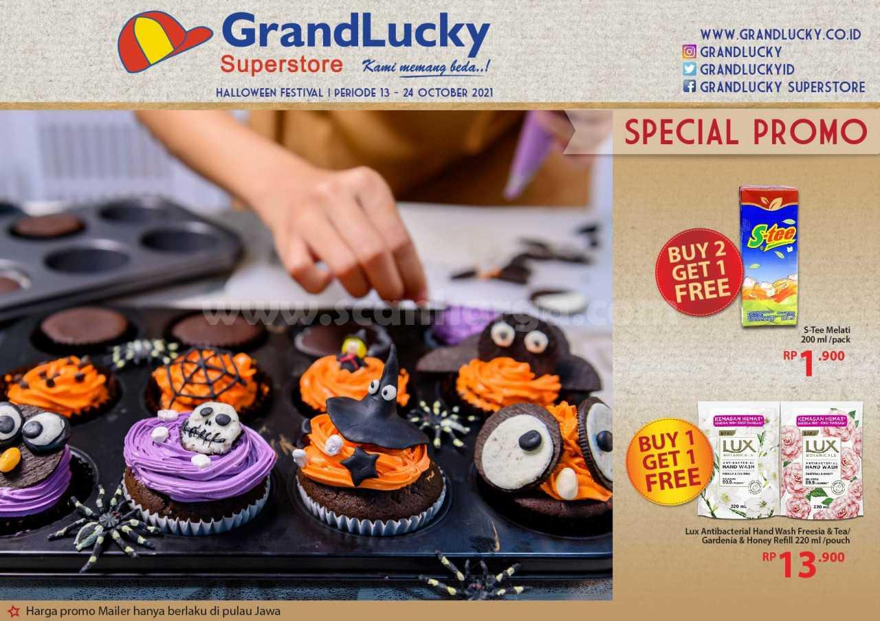 Katalog Promo Grand Lucky Superstore 13 - 24 Oktober 2021