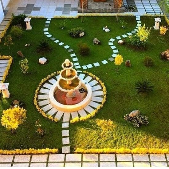 معلم تنسيق حدائق بجدة مصمم حدائق منزلية