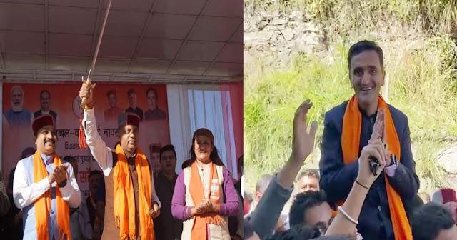 CM जयराम ने चेतन बरागटा को लिया आड़े हाथों: जुब्बल कोटखाई में जमकर दहाड़े