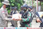 Motivasi Pasukan Garis Terdepan, Dua Pos Sekat Dikunjungi Kapolda Sulteng