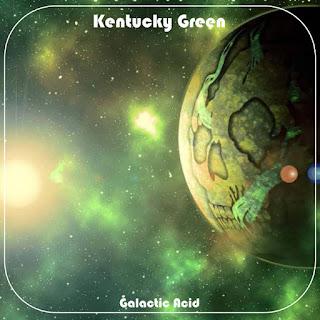 "KENTUCKY GREEN Southern rock debut album ""Galactic Acid"""