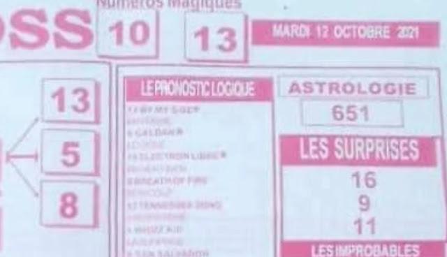 Pronostics quinté pmu Mardi Paris-Turf TV-100 % 12/10/2021