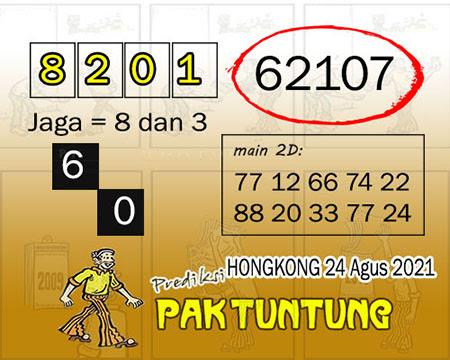 Syair HK Selasa 24 Agustus 2021 -