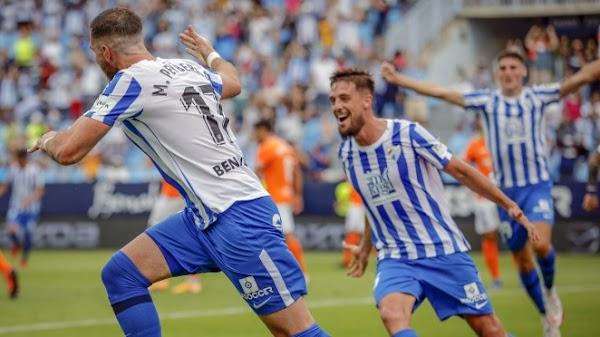 Un gol de Peybernes da la victoria al Málaga ante el Fuenlabrada (1-0)