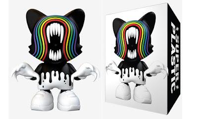 """Brightmare SuperJanky 8"""" Vinyl Figure by Alex Pardee x Superplastic"""