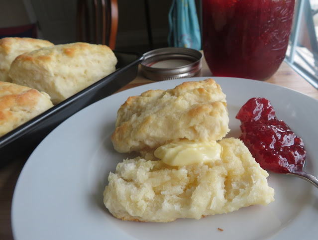 One Two Three Buttermilk Biscuits