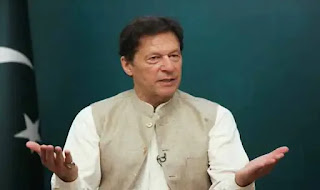 Pakistan Prime Minister and former captain of the Pakistan cricket team, Imran Khan