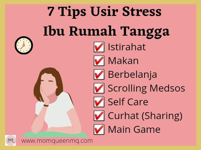 7 Tips Mengusir Stress Ibu Rumah Tangga, Pilih Mana?