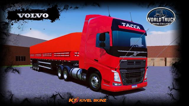 VOLVO FH16 750 - TACCA QUALIFICADO VERMELHO