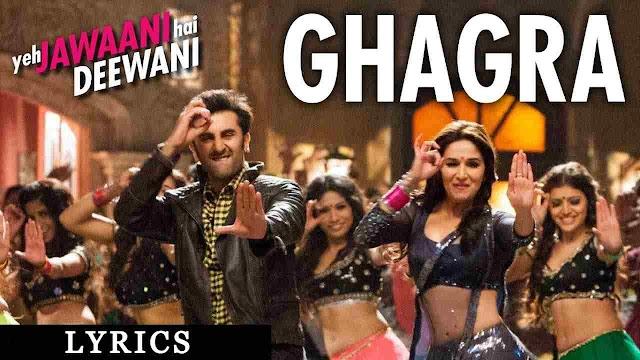 Ghagra Lyrics in Hindi - Yeh Jawaani Hai Deewani