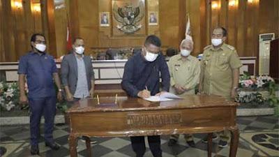 DPRD Kabupaten Asahan dan Kepala Daerah Sepakati Perubahan APBD 2021