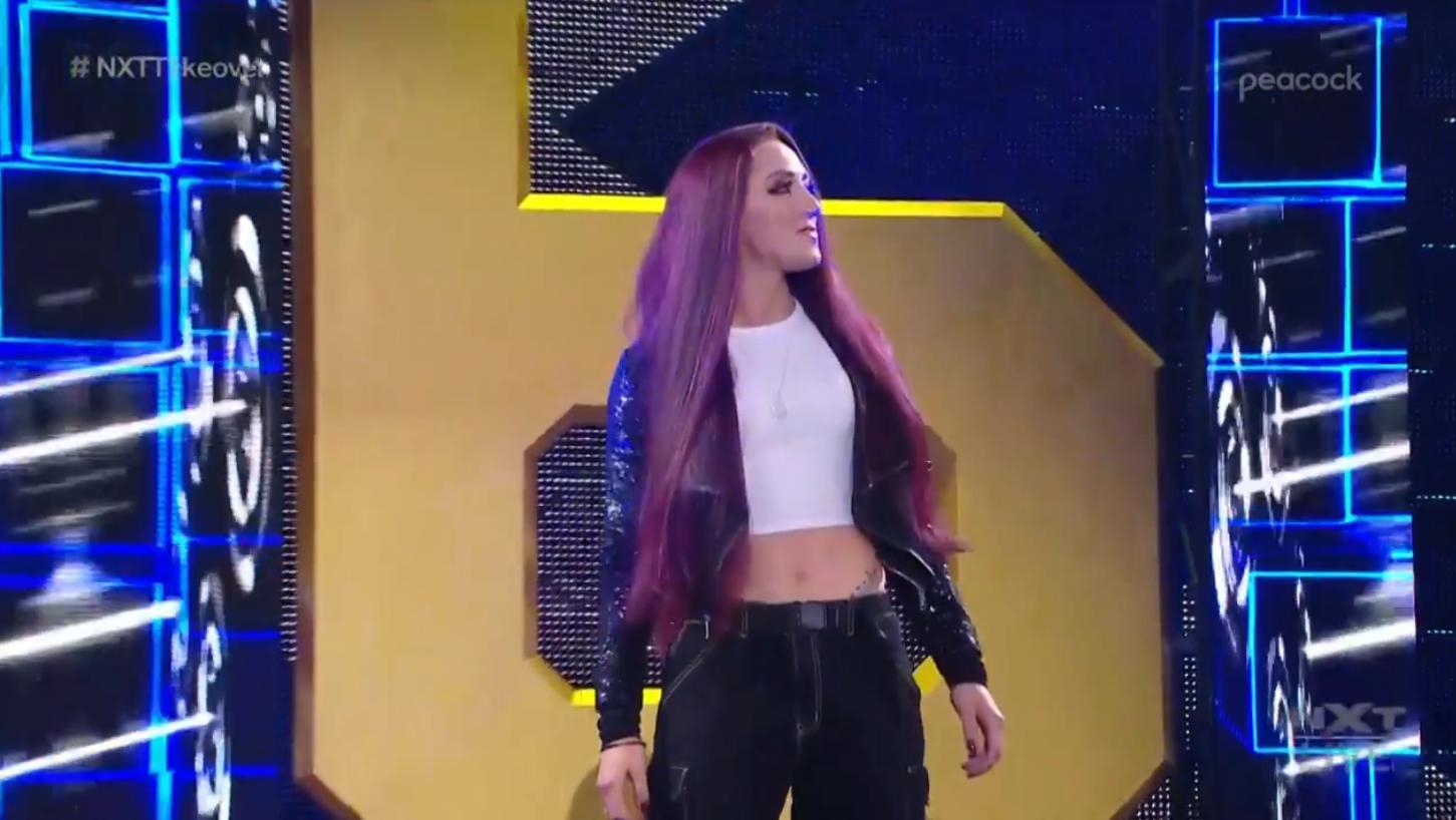 Kay Lee Ray migra para o NXT e faz aparição no TakeOver 36
