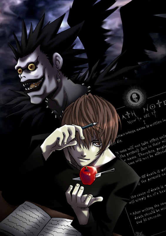 Plot Of Death Note Is Scary ?