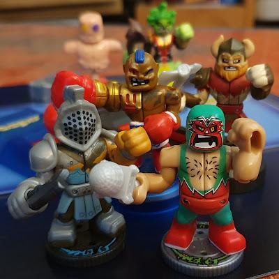 Akedo Ultimate Arcade Warriors ready for battle