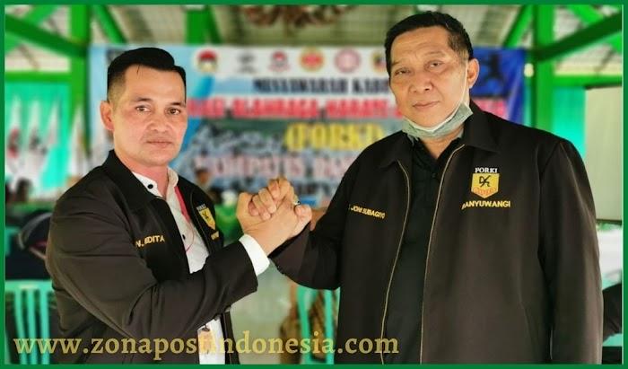 Forki Banyuwangi Jawa Timur Memiliki Ketua Baru Untuk Periode 2021-2026, Bertekad Untuk Lebih Maju