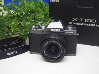 Jual Fujifilm X-T100 Second
