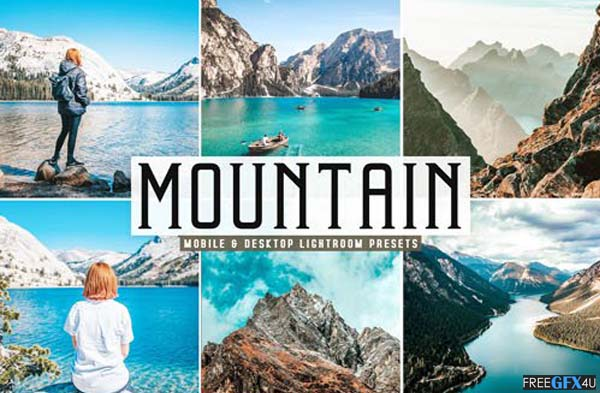 Mountain Photoshop Action