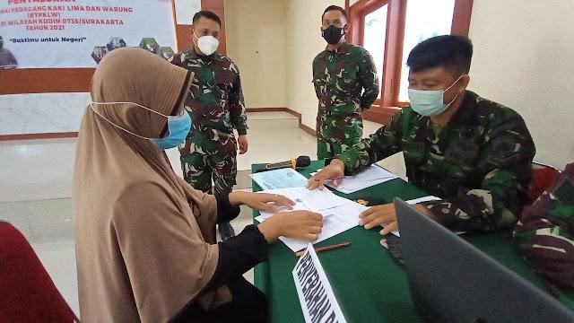 BTPKLW Dilaunching Kodim 0735/Surakarta. Ribuan Warga Solo Siap Terima Bantuan