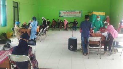 UPT Puskesmas Bayan Purworejo Adakan Vaksinasi II untuk Prolanis