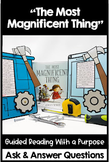 The Most Magnificent Thing guided reading growth mindset for kids