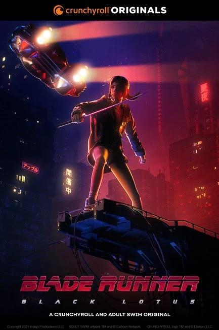 El anime Blade Runner: Black Lotus se estrenará el 13 de noviembre.