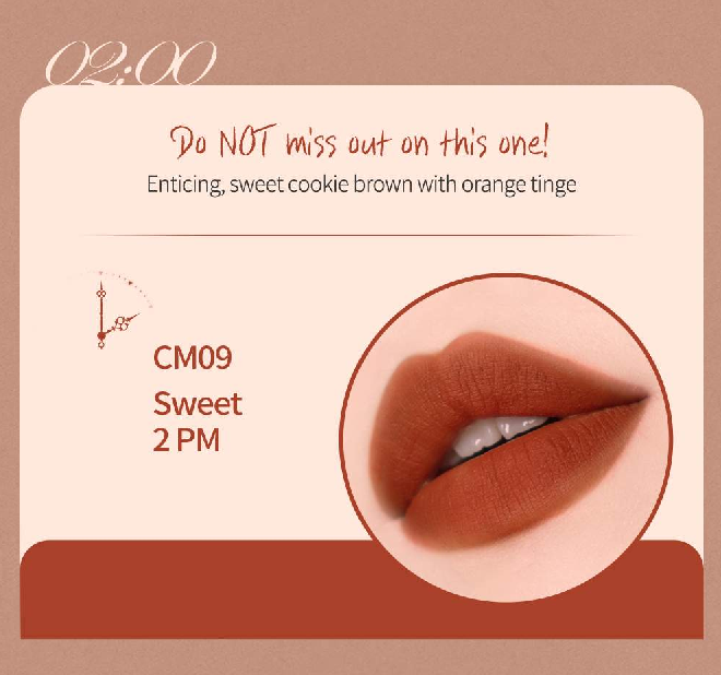 Màu CM09 - Honeyed