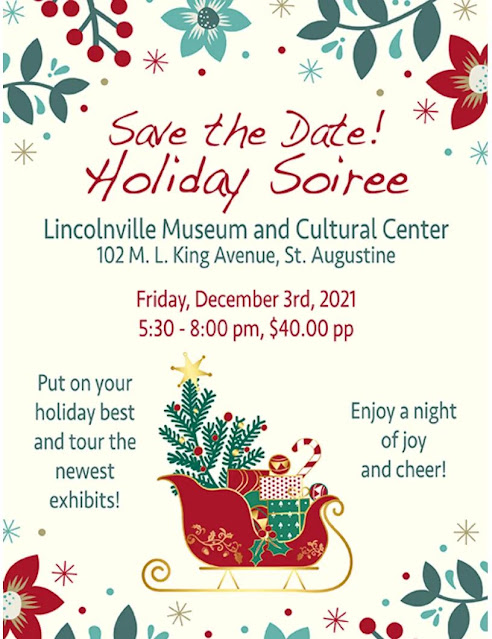 Holiday Soirée 2021 by Lincolnville Museum and Cultural Center