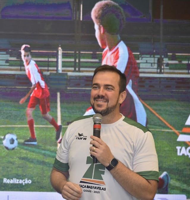 Aparecida de Goiânia vai sediar jogos da Taça das Favelas 2021