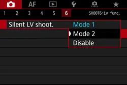 Silent LV shoot