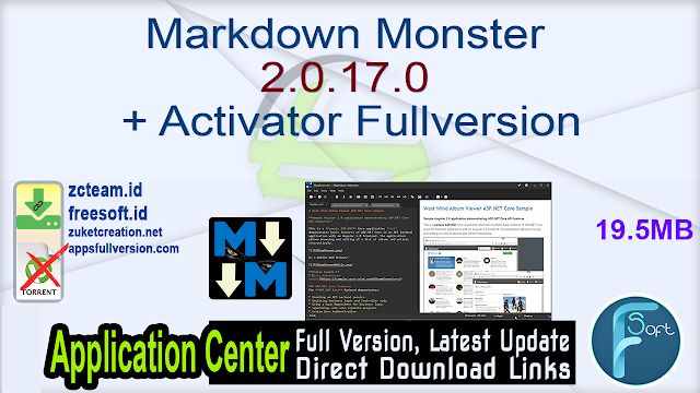 Markdown Monster 2.0.17.0 + Activator Fullversion
