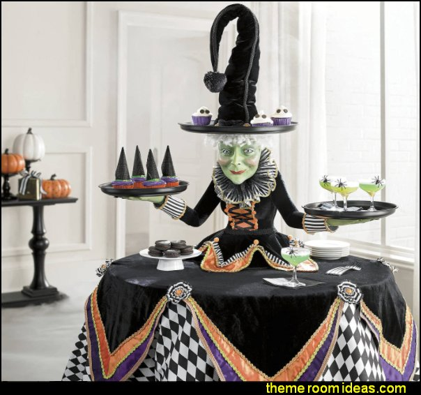 Witch Hat Snack Bowl Holder halloween table decorations halloween party