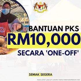 Permohonan & Semakan Syarat Kelayakan Bantuan Peniaga RM10,000 Secara 'One-Off'