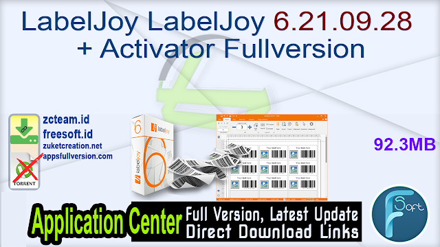 LabelJoy LabelJoy 6.21.09.28 + Activator Fullversion