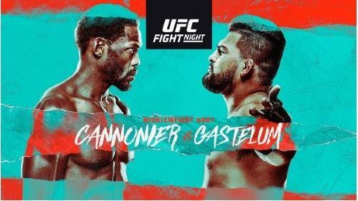 Watch UFC FightNight : Cannonier vs. Gastelum 8/21/2021 Online